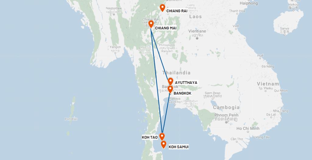 tour thailandia 15 giorni